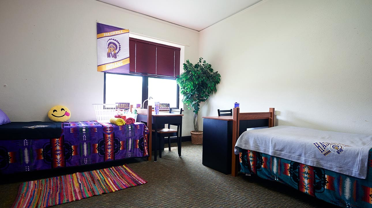 Example of a two-person room